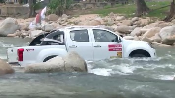 IsuzuDMaxWatercrossing