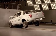 Mitsubishi Triton L200 crash test – 5 star ANCAP safety rating – Mitsubishi Australia