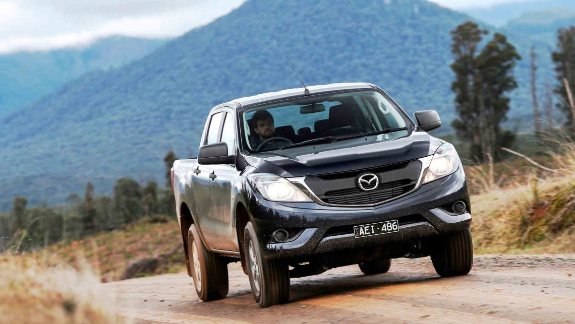 Mazda BT-50 pickup to return to UK