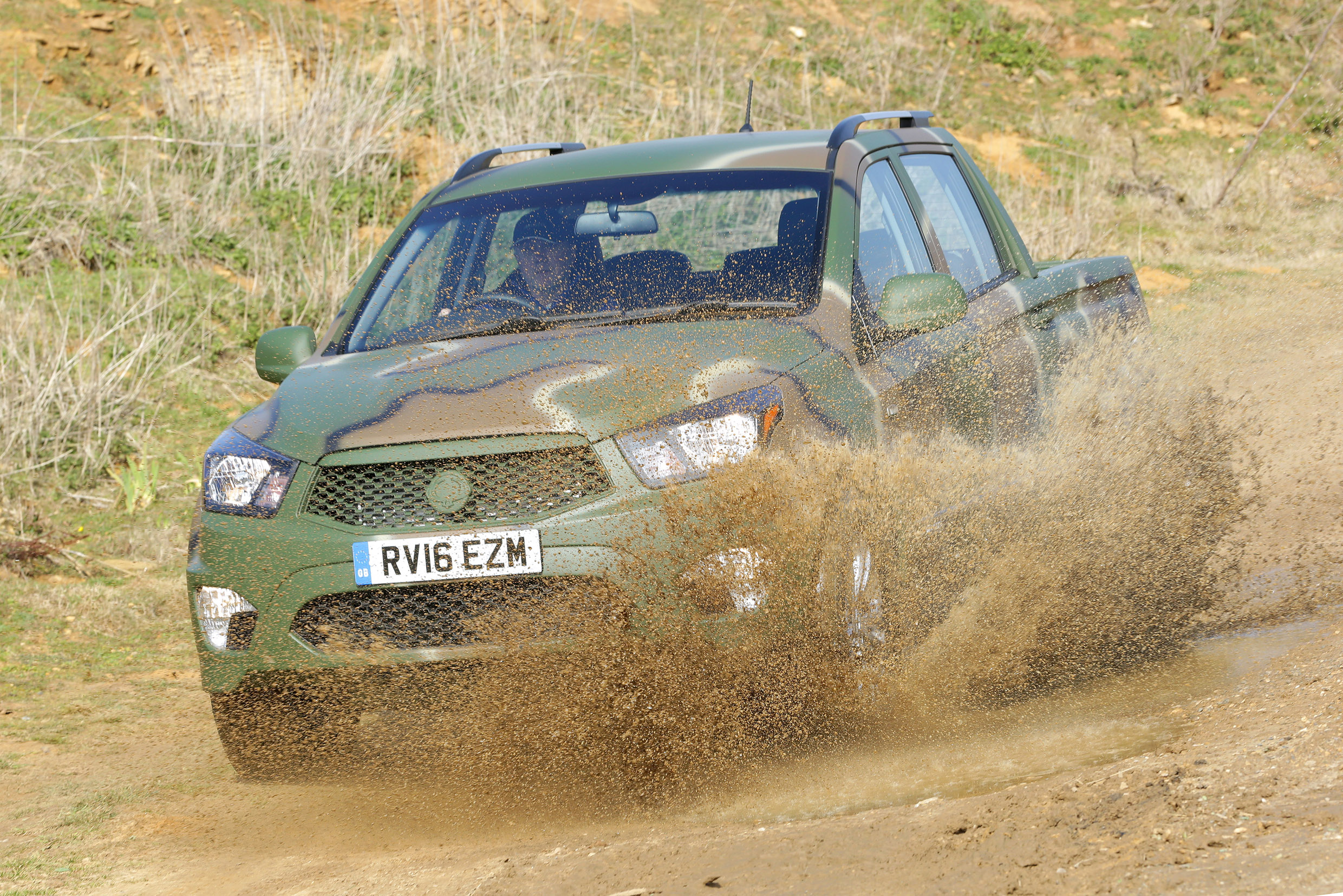 Korando Sports gears for combat