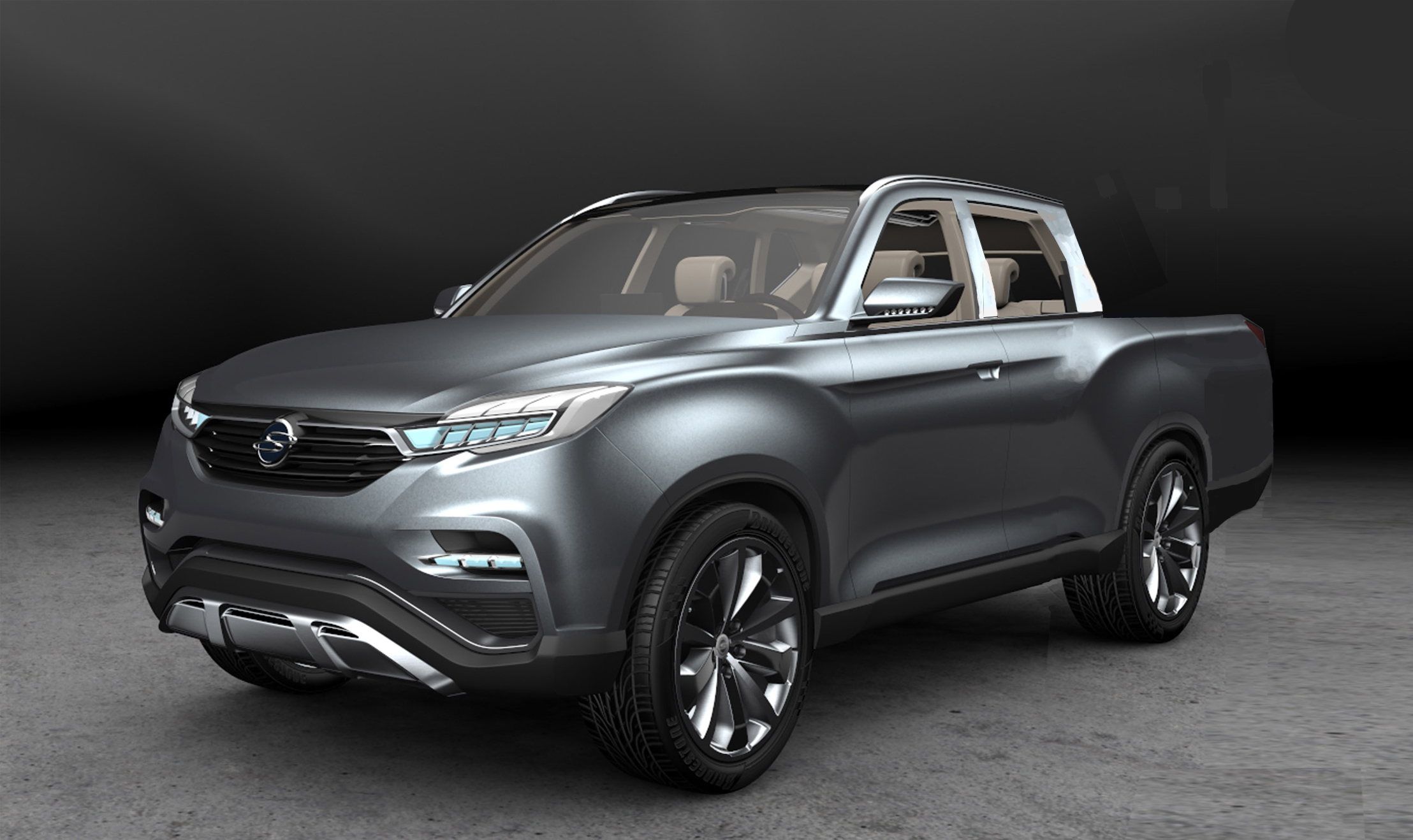 SsangYong Musso 2018 preview