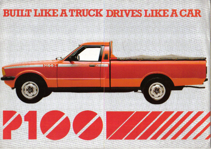Ford P100 Cortina pickup