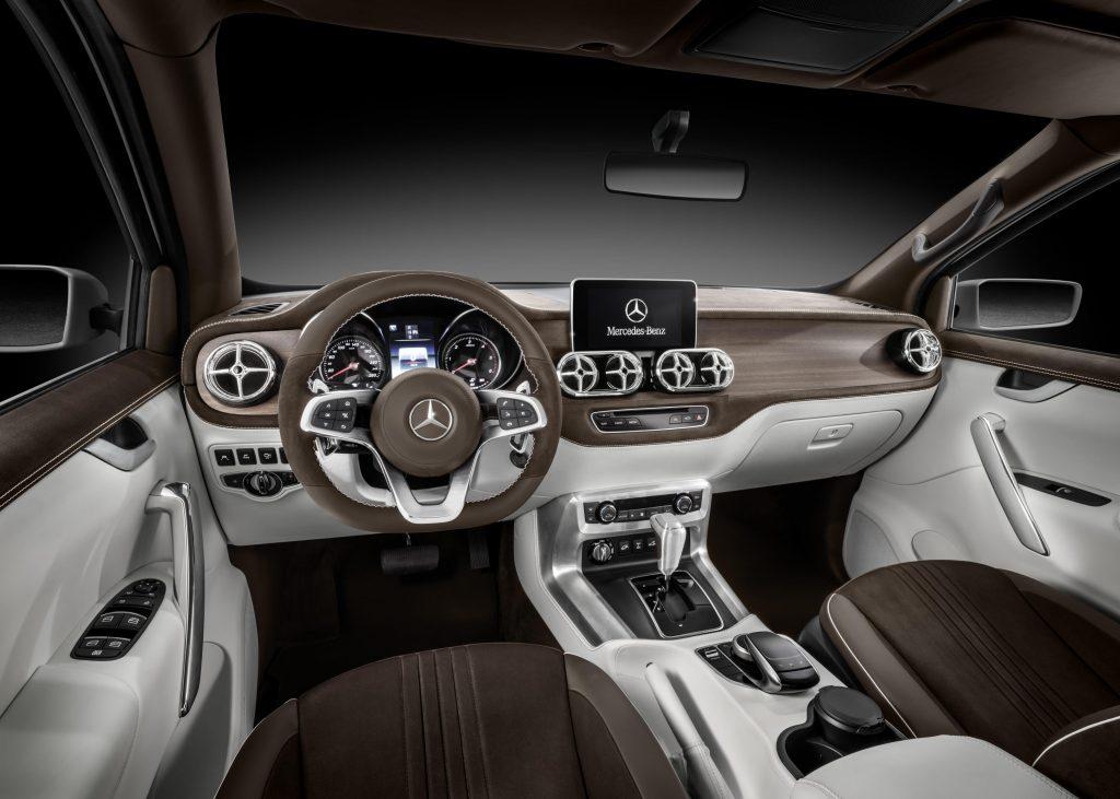 Mercedes-Benz X-Class cab interior