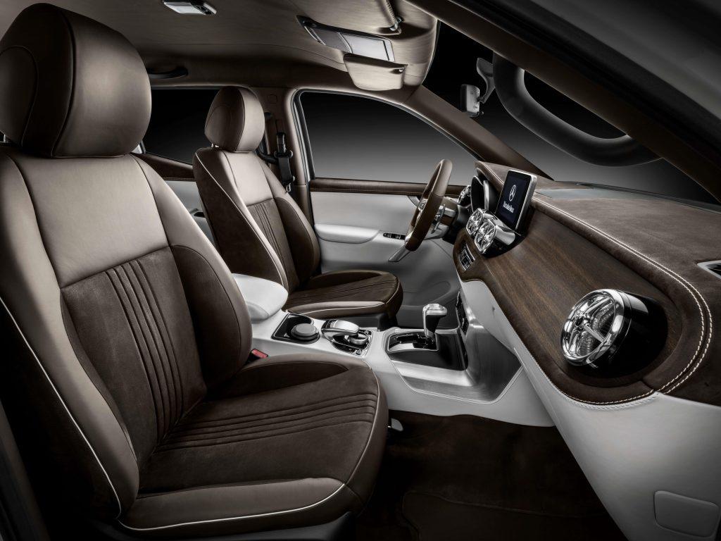 Mercedes benz x class review pro pickup 4x4 for X class mercedes benz price