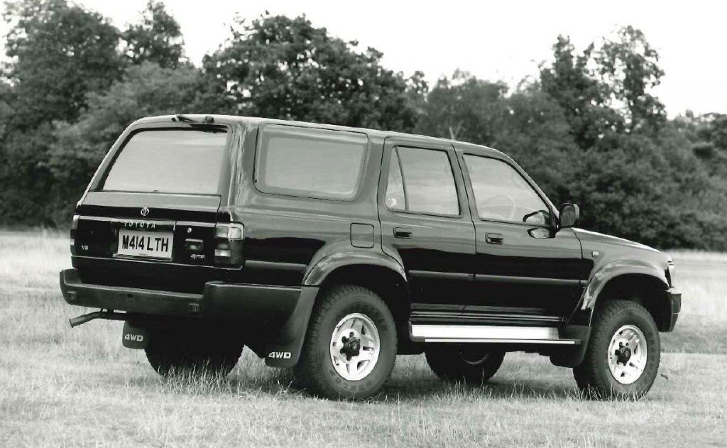 Toyota 4Runner UK