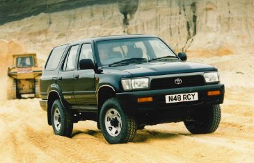 Toyota 4Runner UK