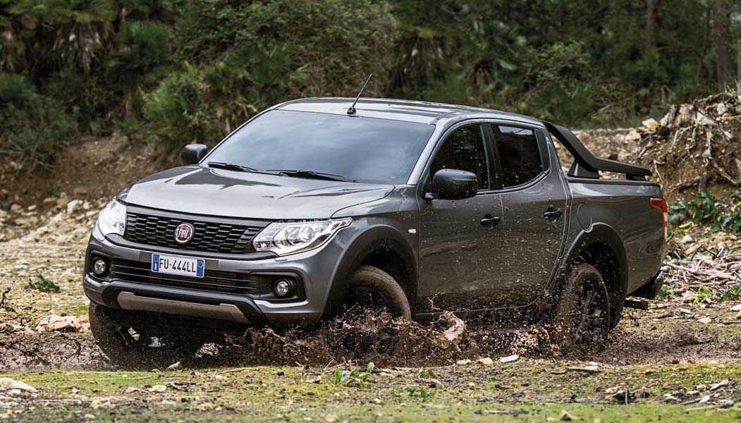 fiat launches the fullback cross pro pickup 4x4. Black Bedroom Furniture Sets. Home Design Ideas