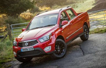 SsangYong Musso 2017