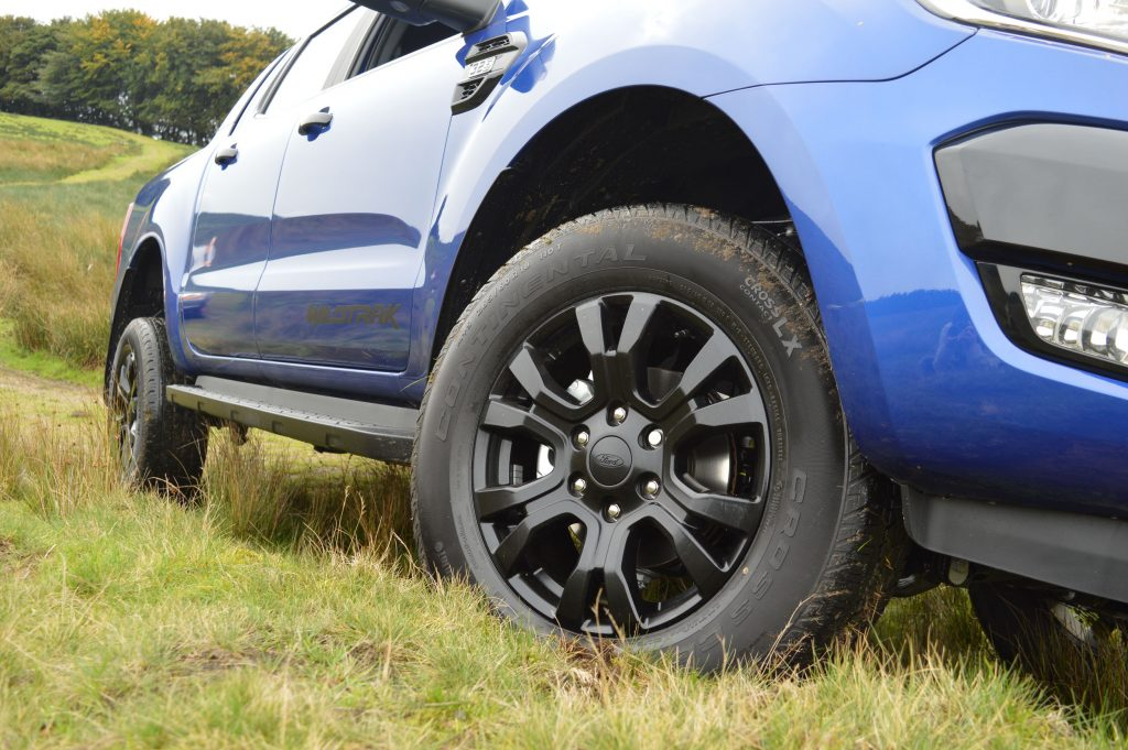 Ford Ranger Wildtrak X alloys