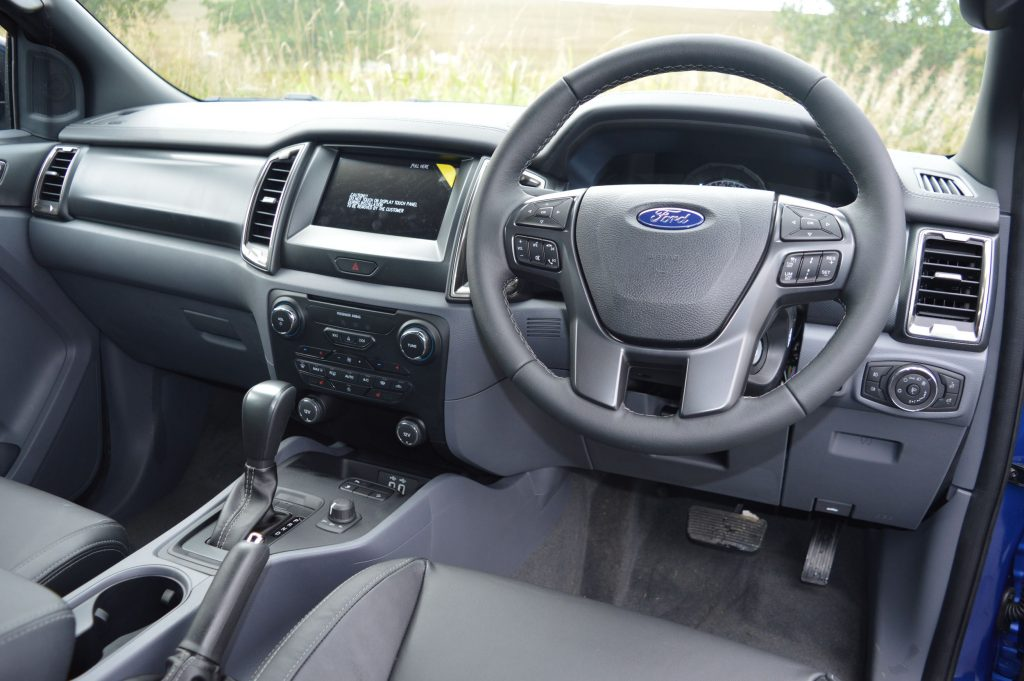 Ford Ranger Wildtrak X interior