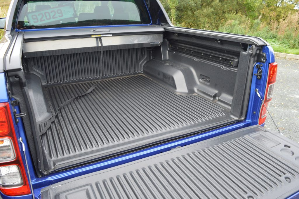 Ford Ranger load area
