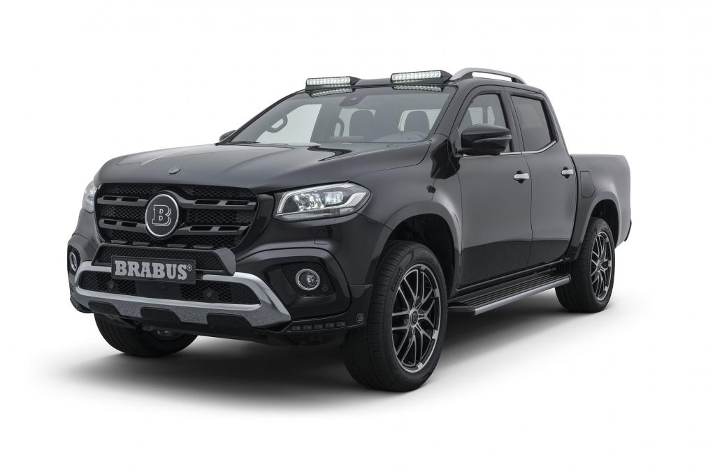 Brabus gets its mitts on the X-Class