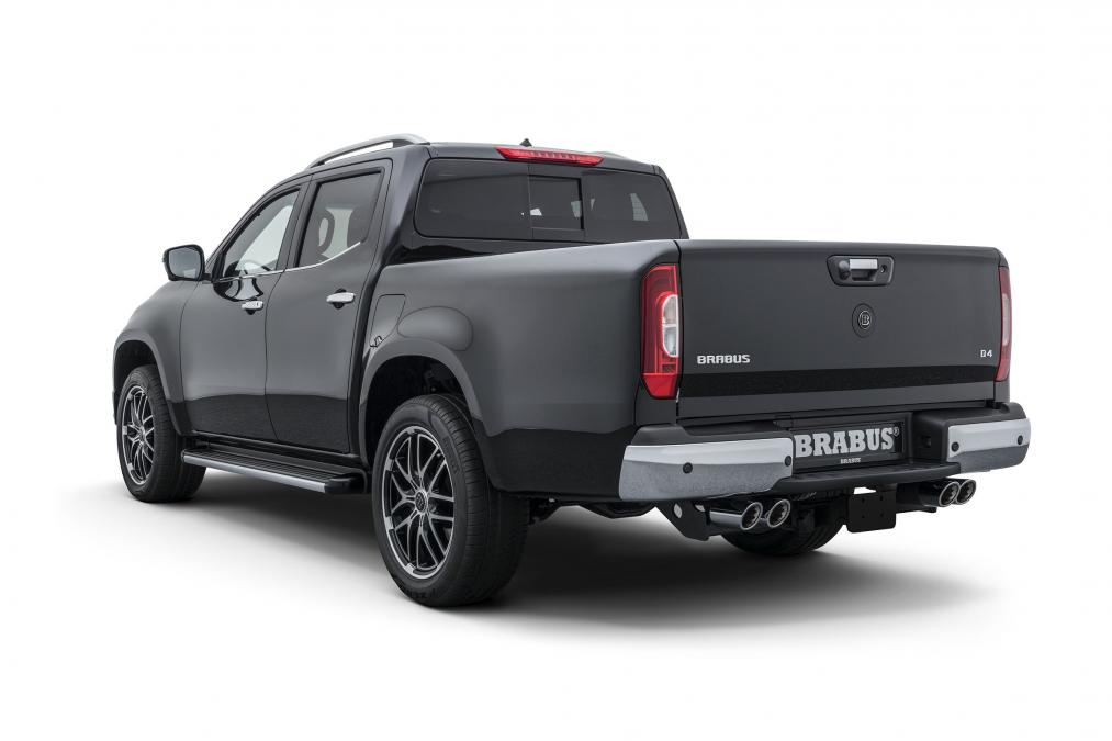 203fa1732a Brabus gets its mitts on the X-Class - Pro Pickup   4x4