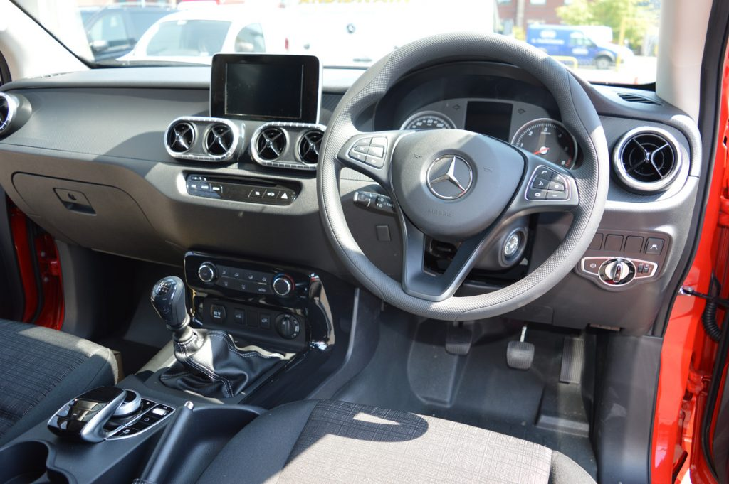 Mercedes-Benz X-Class Pure interior