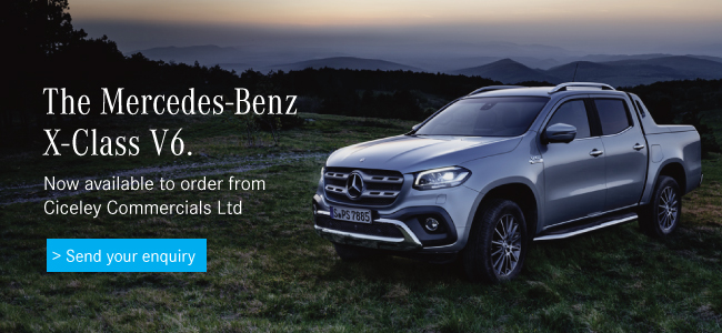 Mercedes-Benz X350D V6 offers