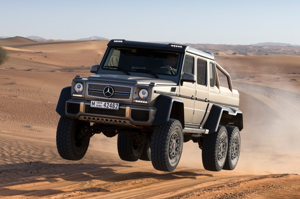 Mercedes-Benz G-Wagon 6x6