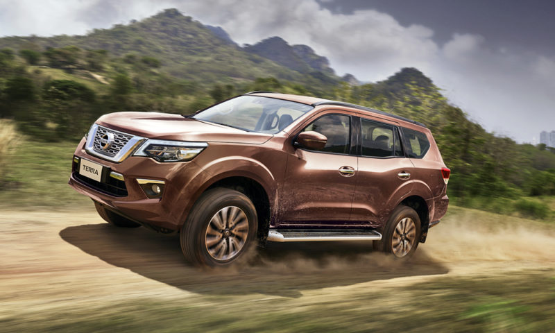 Pickup-derived SUVs