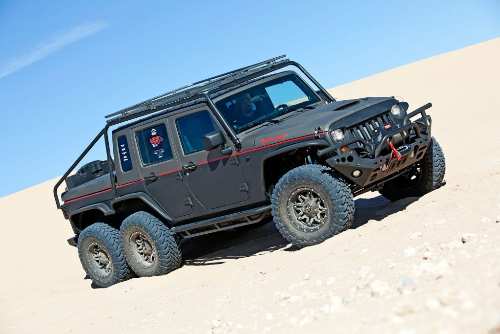 Jeep Wrangler Wild Boar 6x6 pickup