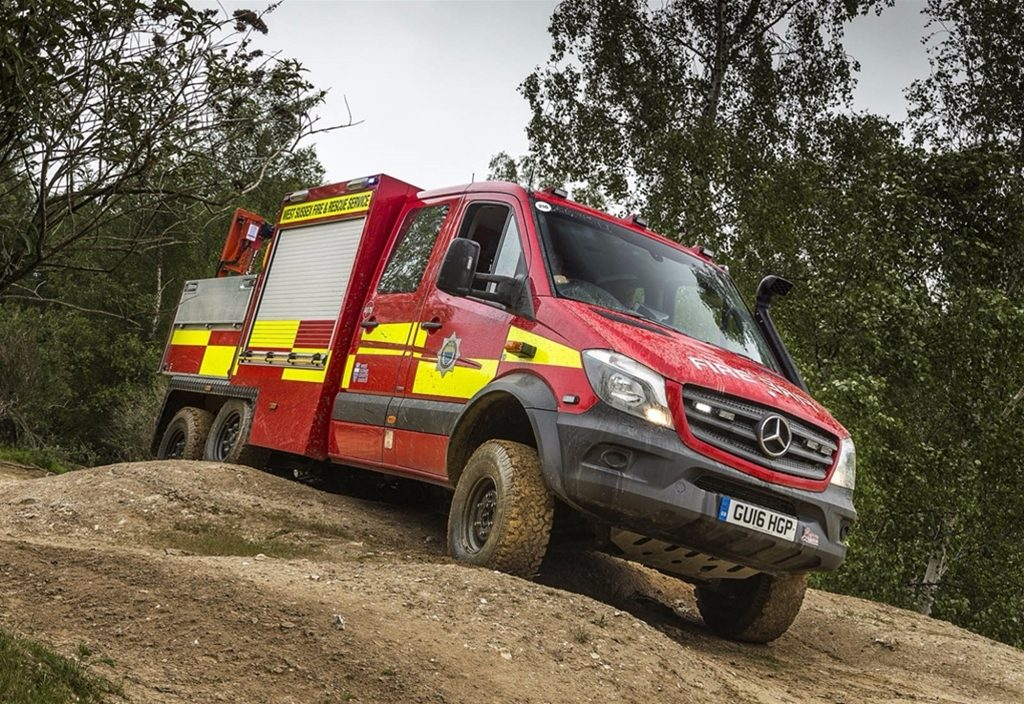 Mercedes-Benz Sprinter 6x6