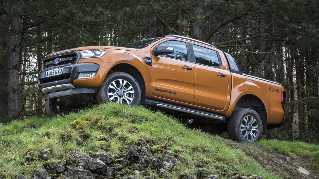 The most economical pickup truck in the UK - the Ford Ranger
