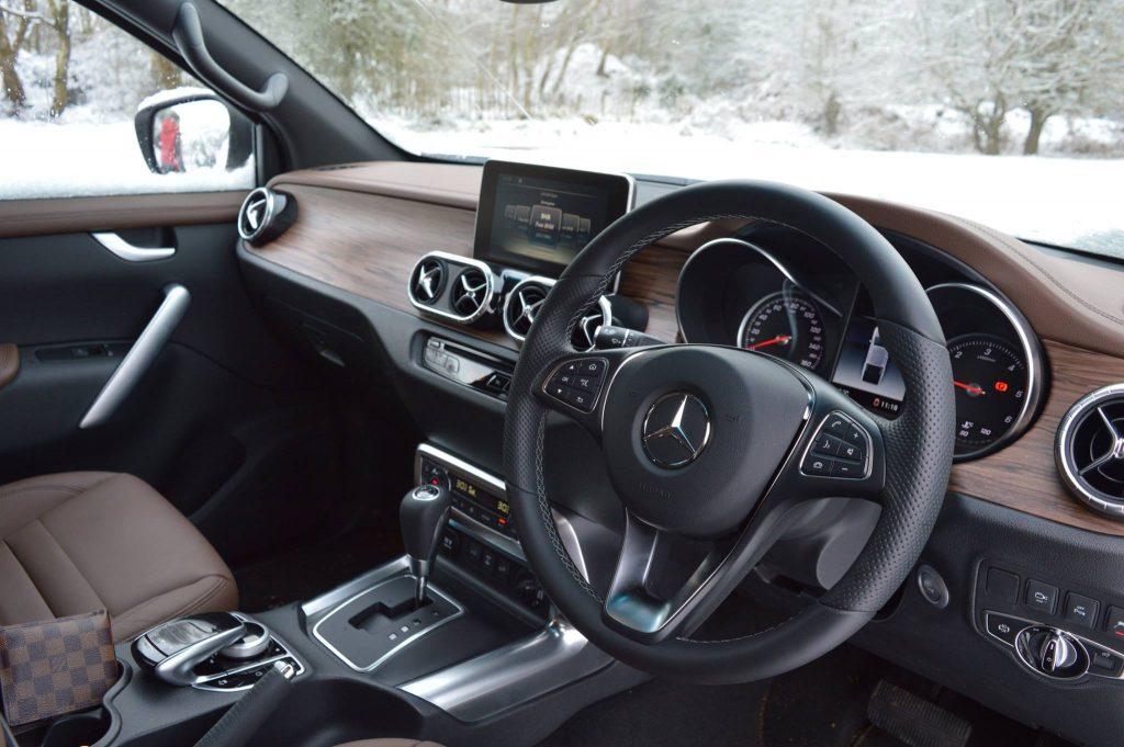 Mercedes-Benz X-Class Power interior