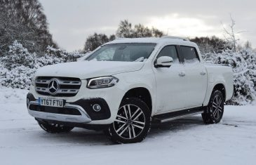 Mercedes-Benz X-Class X250D Power review