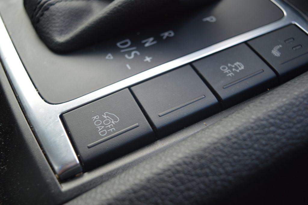 VW Amarok off-road settings
