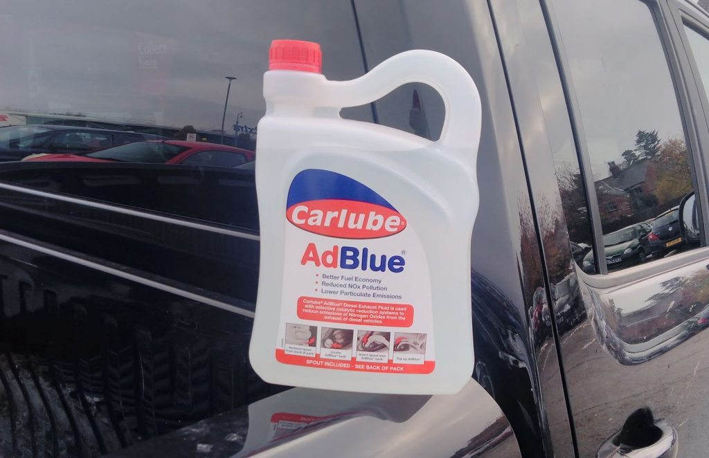 Pickup trucks AdBlue consumption