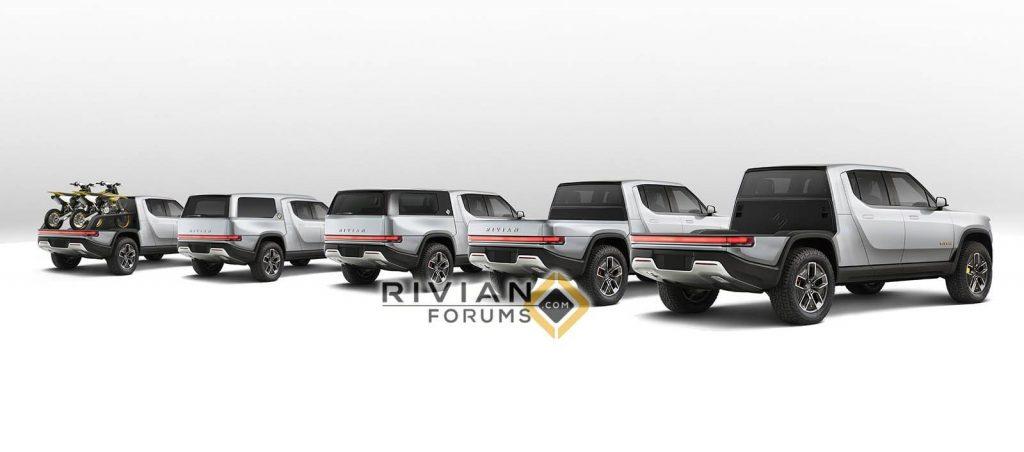 Rivian R1T modular load area