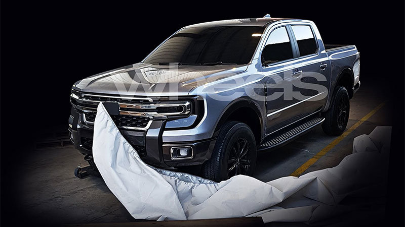 Ford Ranger 2022 spy shots leaked