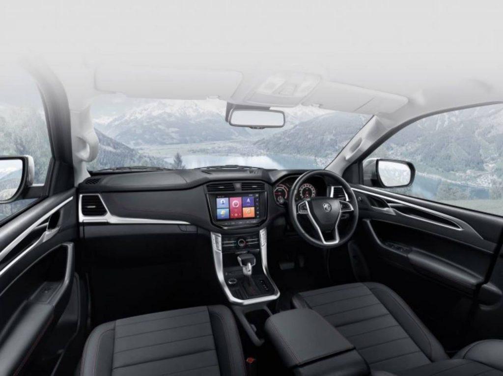 MG Extender interior