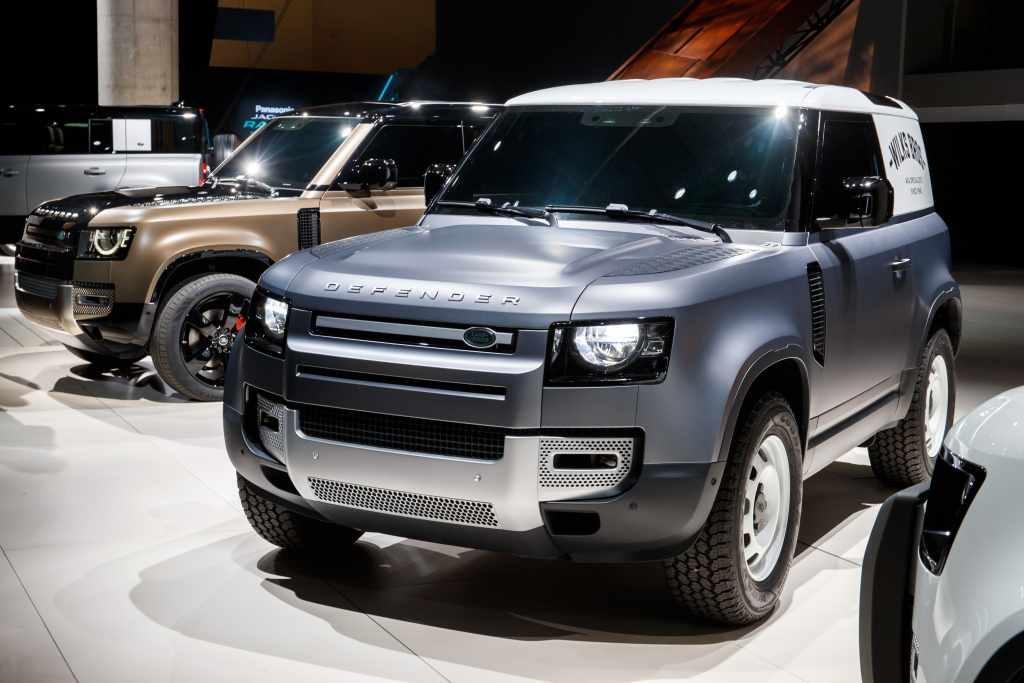 2020 Land Rover Defender Commercial