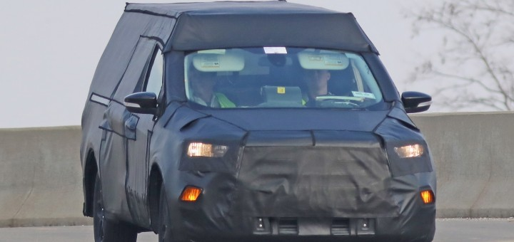2022 Ford Courier spy shot