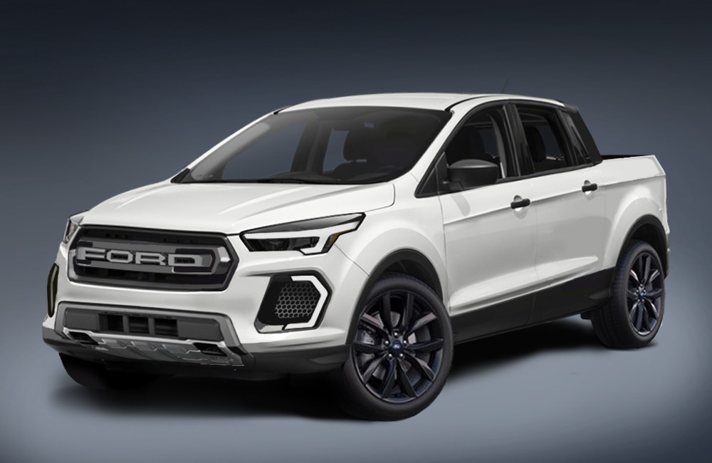 Ford Focus-based pickup being developed in Australia