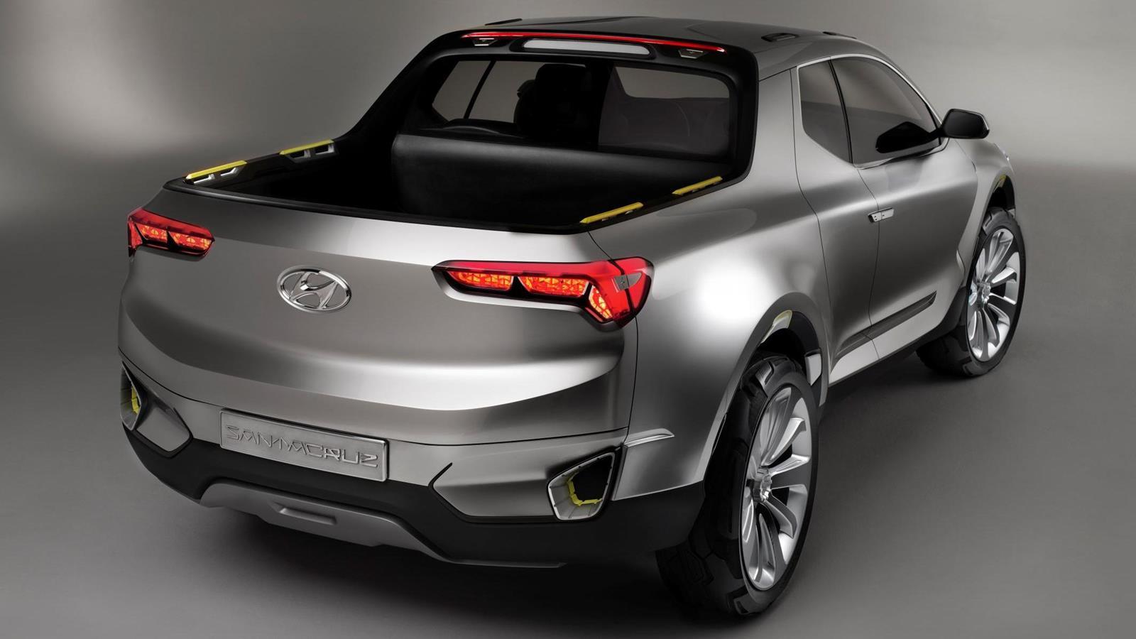 The Hyundai Santa Fe pickup is nearing production