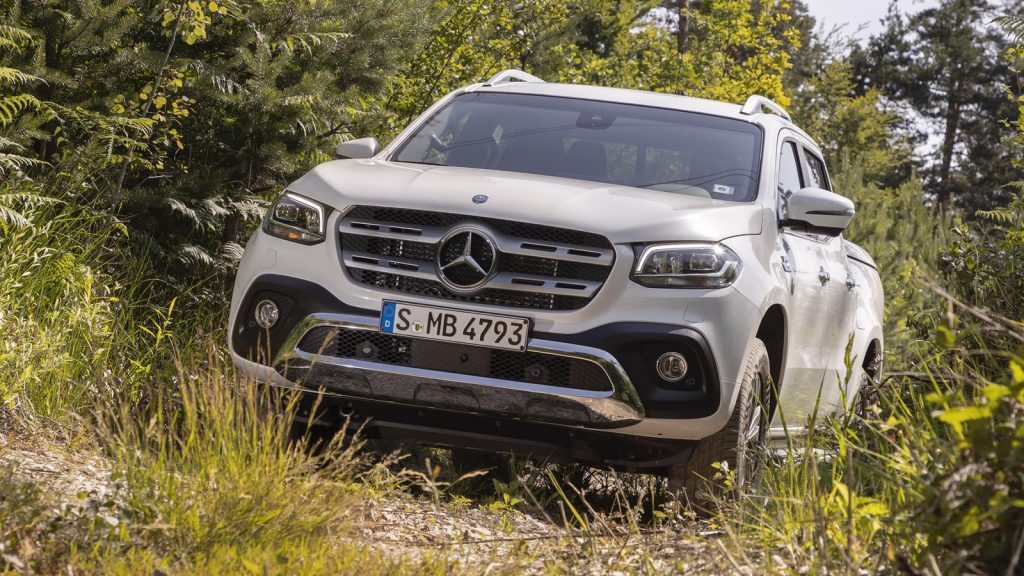 The Mercedes X-Class looks majestic in this video
