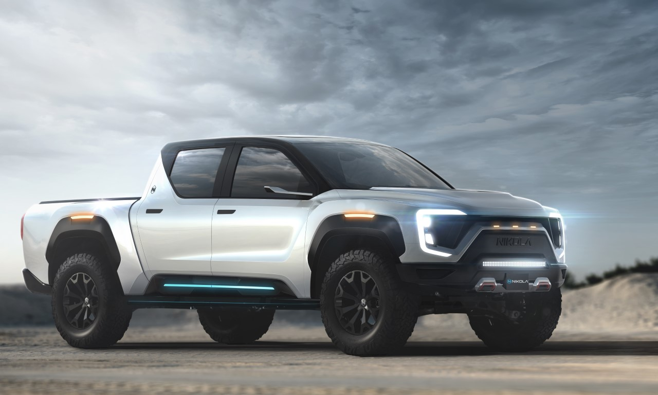 Nikola Badger electric pickup truck