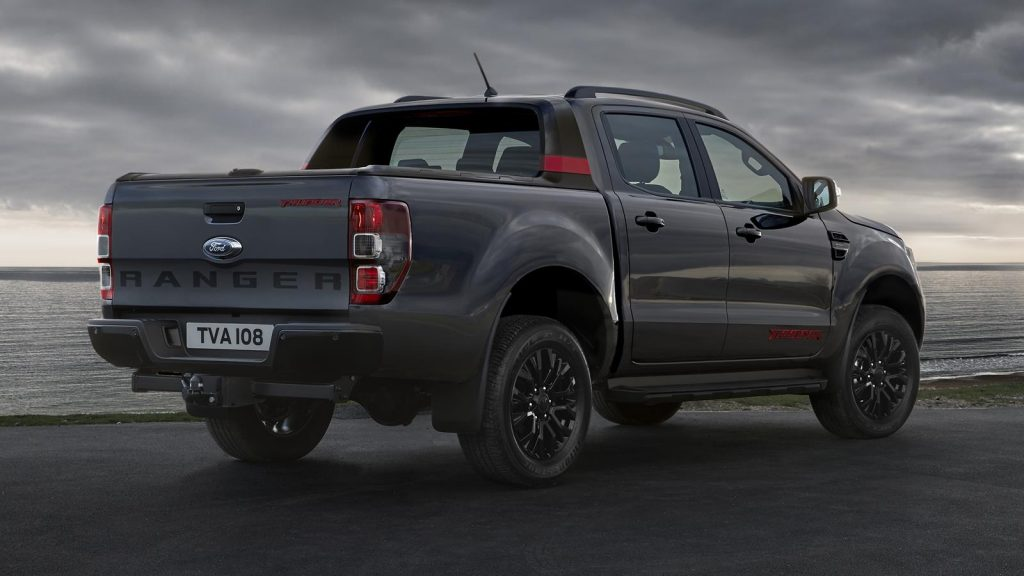 The Ford Ranger Thunder retains its one-tonne payload