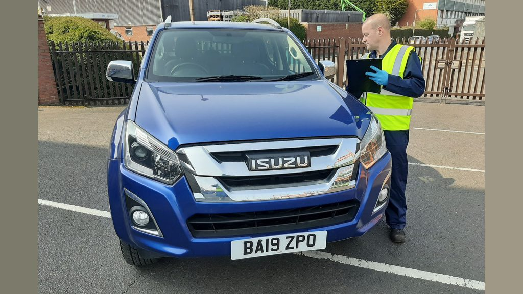 Isuzu donated three D-Max pickup trucks to help the fight against the coronavirus