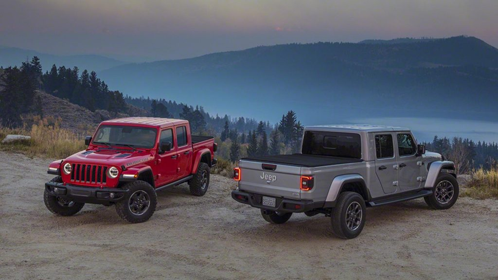 The new Jeep Gladiator