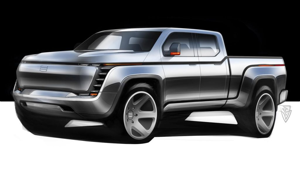 The Lordstown Endurance electric pickup