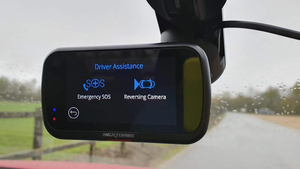 The Nextbase 322GW Dash Cam can be paired with a second camera for extra facilities