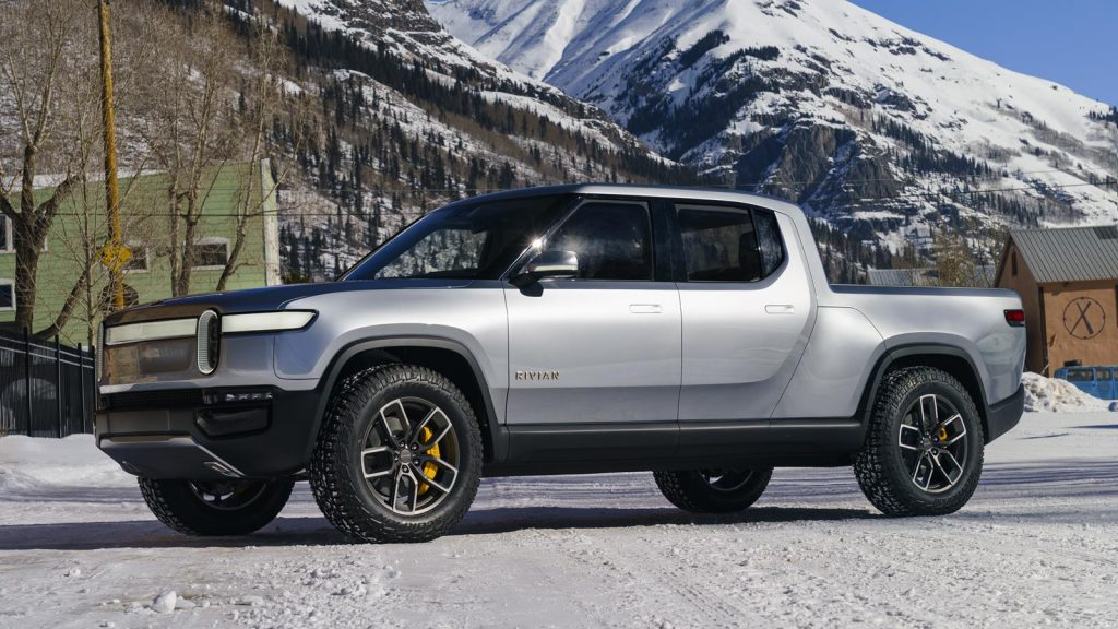 The Rivian R1T has undergone winter testing.