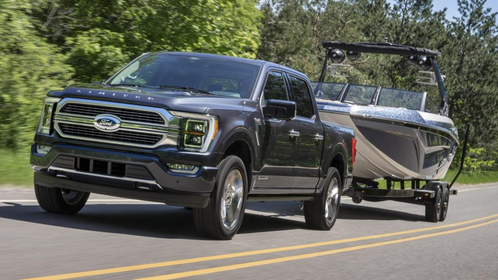 Ford F-150 2021 towing