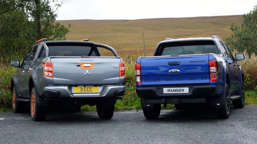 L200 SVP II and Ranger Wildtrak X