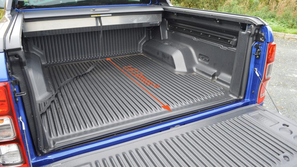 The longest pickup load bed in the UK, the Ford Ranger