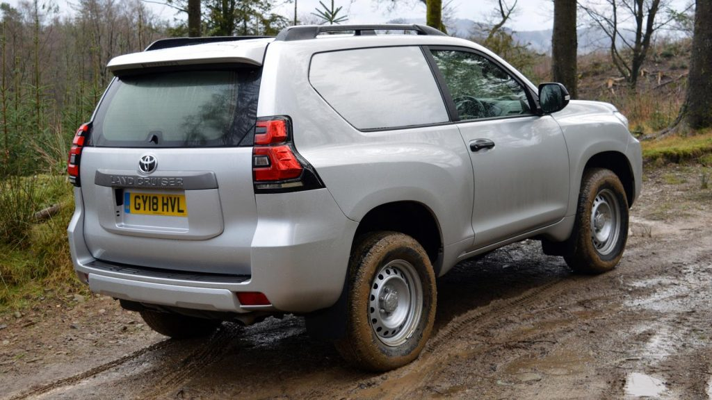 Toyota Land Cruiser Commercial rear