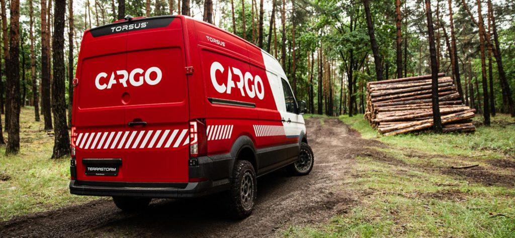 The Torsus Terrastorm Cargo van