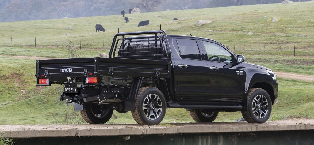 Hilux chassis cab joins the Rugged X in Australia