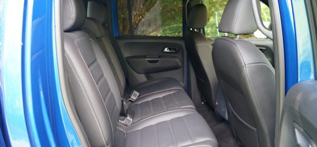 Volkswagen Amarok V6 Aventura rear seat review